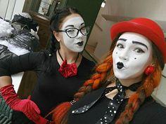 Mime Makeup, Halloween Face Makeup, Joker, Life, The Joker, Jokers, Comedians