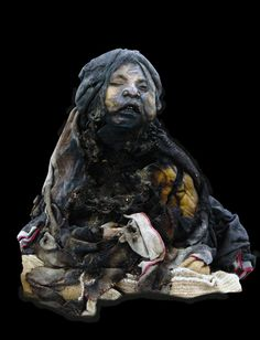 Lightning Girl is a preserved Andean Mummy from the Inca Empire, a six year old girl who was sacrificed for religious rites and imperial control over the mountain peasant population. She was discovered on Llullaillaco volcano, her body extremely well preserved- having spent approximately five hundred years at a eighty-two foot altitude- save for the damage caused by a lightning strike (which took off her ear and charred her left shoulder), hence her given name by archaeologists.