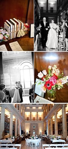 Tasteful, Historic Library Wedding in Minnesota  - WeddingWire: The Blog