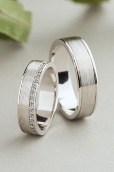 Wedding rings for him and her White gold wedding rings Diamond wedding bands Wedding band set Matching wedding rings Wedding rings white gold wedding bands Eheringe Wedding Rings Sets His And Hers, Wedding Ring For Him, Matching Wedding Rings, Celtic Wedding Rings, Wedding Rings Simple, White Gold Wedding Bands, Wedding Band Sets, Wedding Rings Vintage, Diamond Wedding Rings