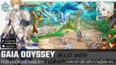 Gaia Odyssey:Key to Otherworld  | Gameplay for Android and iOS | ARPG | Gamesoda - YouTube Free Mobile Games, Gaia, Google Play, Ios, Android, Action, Adventure, Youtube, Group Action