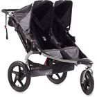 BOB Revolution SE Duallie Black Jogger Double Seat Stroller barely used at all!