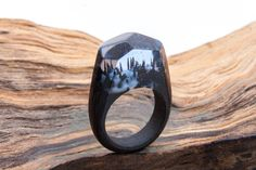 Wooden ring Soul of the Foest GreenWood. Wooden by StoreGreenWood