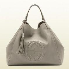 282308 A7m0g 2816 Gucci Soho Fango Farbe Leder-Umh?ngetasche Gucci Damen Handtaschen