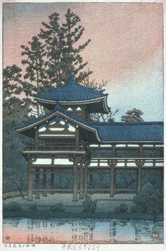 Phoenix Hall of the Temple Byōdō-in, Uji Alternate Title: 宇治平等院鳳凰堂 Series…
