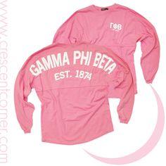 Gamma Phi Beta Coastal Jersey in Pink! $47.50