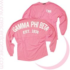 Gamma Phi Beta Coastal Jersey...available for individual purchase!