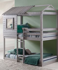 Take a look at this Twin Deer Blind Bunk Bed today!