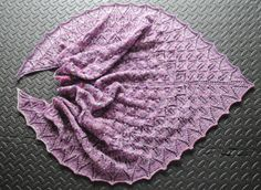My first ever attempt at lace knitting. This shawl is so pretty and the pattern is super easy to use. Lace Knitting, Knitting Socks, Slouch Socks, Casting On Stitches, Winter Jumpers, Earth Design, Wear Store, Moss Stitch, Clothes Crafts