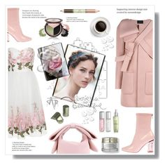 """""""Pastel"""" by stranjakivana ❤ liked on Polyvore featuring Simone Rocha, Chi Chi, Le Labo, Lancôme, Osmosis Colour, Bling Jewelry, Deep Sea Cosmetics, Pixi, Valentino and women's clothing"""