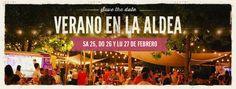 Fin de semana largo en Mercado La Aldea como siempre con Food Trucks - Gastronomía Gourmet - Patio Cervecero - Tragos - Bandas en vivo -Shows de circo - Diseño - Arte -Deco - Productores Gastronómicos