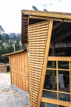 Garage Doors, Architecture, Outdoor Decor, Home Decor, Wood Columns, Beams, Log Homes, Wood Architecture, Wine Cellars