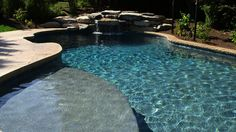 """In this installment of the Craftsman Series, we highlight Lehigh Valley, PA pool builder, Monogram Custom Pools. The company uses our custom pebble pool finish, Monogram Blue, that was created for its durability and beauty. CL Industries is proud to have our pool finish as part of Monogram's special formula for the """"hassle free pool."""" It's no wonder why Monogram Custom Pools was voted top 5 pool builders in the USA for customer satisfaction."""