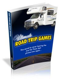 Car Bingo / Auto Bingo, Travel Bingo and Many other PRINTABLE Car Games to play in the car