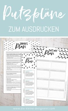 Organisation Haushalt Finally cleaning with a plan! This package includes a daily cleaning plan as a Weekly Cleaning Plan, Daily Cleaning, Cleaning Checklist, Plan Budgétaire, How To Plan, Halloween Scrapbook, Halloween Cards, Halloween Makeup, Diy Journal Books