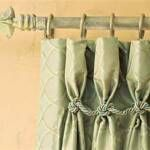 goblet pleated trim