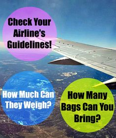 Packing and Traveling Tips!