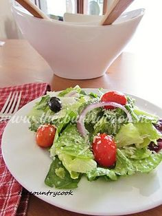 The Country Cook: Olive Garden Salad Dressing
