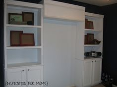 Pin and Share! Thanks!3.6k104030My little man will be turning six years old in less than two weeks. It was time to create a 'big boy' room and his upcoming birthday was just the motivation I needed. His room has been in desperate need of more storage. I thought some built in bookshelves would be awesome…and …