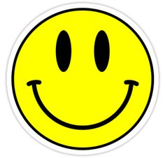 """Acid House Smile Face"" Stickers by Chairboy Emoji Stickers, Face Stickers, Tumblr Stickers, Printable Stickers, Laptop Stickers, Acid House, Emoji Phone Cases, Iphone Cases, Yellow Smiley Face"