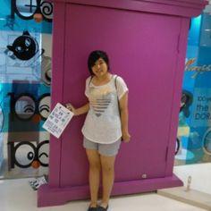 Doraemon door ;OO weeee~~ hehehee - @bubblezrainbow- #webstagram