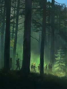 Travelers in a Forest | Taiga by Ville Assinen