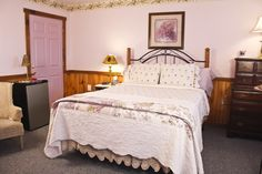 Sadi Maya decorated with a special flare of lavender and lace. Just picture yourself relaxing in a queen size bed reading a book in front of the year-round fireplace or just cozying up with your sweetie watching a movie.  A full gourmet breakfast is provided each morning. Berry Patch Bed and Breakfast 115 Moore Road Lebanon PA 17046
