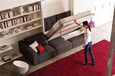 RESOURCE FURNITURE Un estudio italiano desarrolla muebles que se adaptan a diferentes situaciones; mirá las propuestas y contanos qué te parecen