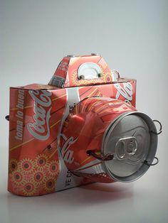 Soda can camera! Cool!