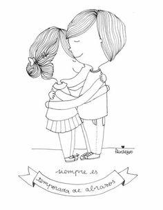Flor de Jopo Mein Job, Cute Doodles, Easy Drawings, Doodle Art, Beautiful Words, Bullet Journal, Valentines, Thoughts, Handmade Cards