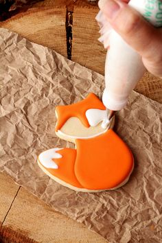 How to Make Fun Little Fox Cookies with a Video | The Bearfoot Baker