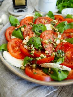 Sugar And Spice, Caprese Salad, Tapas, Spices, Food And Drink, Keto, Dressings, Recipes, Spice
