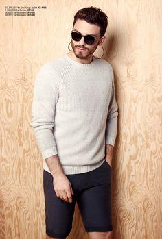 Xhibition SS16 - Mens fashion Ss16, Turtle Neck, Mens Fashion, Pullover, Sweaters, Moda Masculina, Man Fashion, Men's Fashion, Sweater