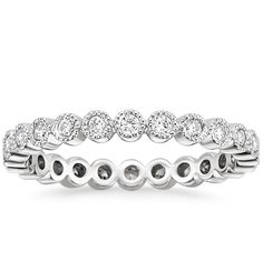 18K+White+Gold+Solstice+Eternity+Diamond+Ring+(3/8+ct.+tw.)+from+Brilliant+Earth