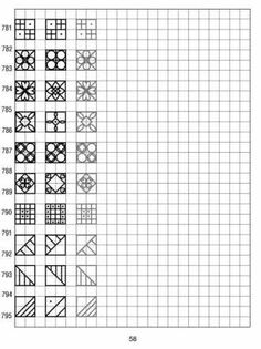 simple designs on graph paper 58 - designs Graph Paper Art, Blackwork, Simple Designs, Art Drawings, Lettering, Math, School, Creativity, Child