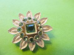SALE 25 off use code LABOR  Vintage Celluoid Pin by Lavendergems, $10.00