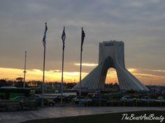 Teherán - Milad a Azadi tower Tower Bridge, Brooklyn Bridge, Iran, Travel, Viajes, Destinations, Traveling, Trips