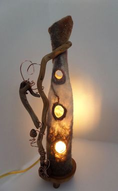Image result for one of a kind felted vessels and illuminations