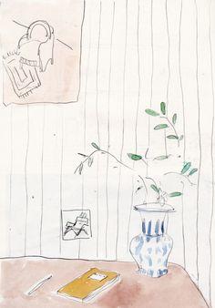 drawing pencil watercolour artists on tumblr shanti shea an