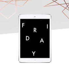 Get Friday Freebies like this iPad mockup