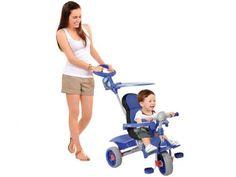 Triciclo Infantil com Empurrador Smart Comfort - Bandeirante com as melhores condições você encontra no Magazine Siarra. Confira!
