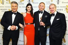 From luxury fragrance of the year to the hall of fame, see who took home trophies at the Fragrance Foundation Awards.