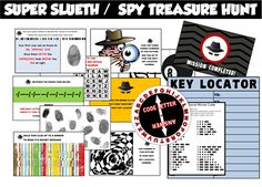 Spy Party Games - Secret Agent Birthday Theme!