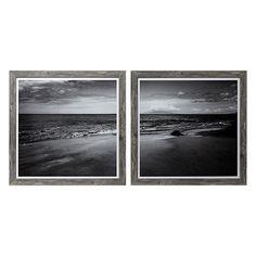 Beach Framed Print Diptych (Set of 2 Panels)