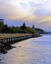 Bellingham Bay Fairhaven Boardwalk, Bellingham, WA