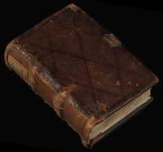 This leather manuscript cover has been made by Albert Bauer #manuscript #bookcover #cover #leather #middleages #medieval