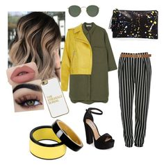 Casual💁 by martsumaaria on Polyvore featuring polyvore, mode, style, MANGO, Glamorous, Steve Madden, Loeffler Randall, Marni, BaubleBar, Ray-Ban, M&Co, fashion and clothing