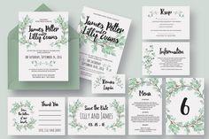 50 Examples of Wonderfully Designed Wedding Invitations | Design Shack