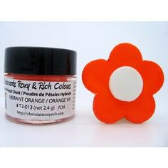 Chocolats Roxy & Rich Petal Dust - Vibrant Orange Golda's Kitchen
