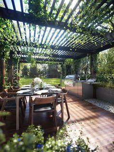 Cocinas de exterior: Jardín secreto